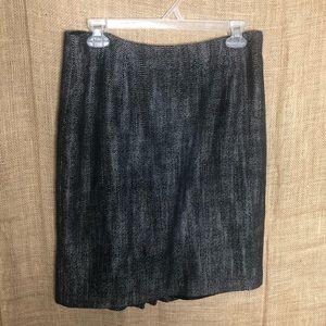 Banana Republic 6 Gray Career Skirt Professional